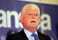 Pictured: Conservative candidate Byron Davies. Friday 09 June 2017<br /> Re: Counting of ballots at Brangwyn Hall for the general election in Swansea, Wales, UK