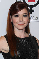 "BEVERLY HILLS, CA - NOVEMBER 04: Actress Alyson Hannigan arrives at the Equality Now Presents ""Make Equality Reality"" Event held at the Montage Beverly Hills on November 4, 2013 in Beverly Hills, California. (Photo by Xavier Collin/Celebrity Monitor)"