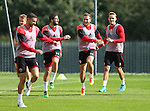 Billy Sharp of Sheffield Utd during the Sheffield Utd training session at the Shirecliffe Training Complex , Sheffield. Picture date: September 29th, 2016. Pic Simon Bellis/Sportimage