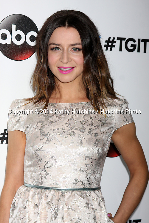 LOS ANGELES - SEP 20:  Caterina Scorsone at the TGIT Premiere Event for Grey's Anatomy, Scandal, How to Get Away With Murder at Palihouse on September 20, 2014 in West Hollywood, CA