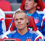 Nederland, Amsterdam, 13 september 2014<br /> Eredivisie<br /> Seizoen 2014-2015<br /> Ajax-Heracles<br /> Kolbeinn Sigthorsson van Ajax op de reservebank.