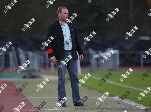 2010-04-17 / Voetbal / seizoen 2009-2010 / KV Turnhout - RFC Luik / Luc Beyens..Foto: mpics
