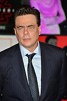 "Benicio del Toro at the world premiere for ""Star Wars: The Last Jedi"" at the Shrine Auditorium. Los Angeles, USA 09 December  2017<br /> Picture: Paul Smith/Featureflash/SilverHub 0208 004 5359 sales@silverhubmedia.com"