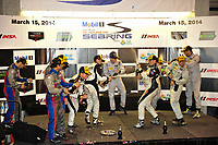 #54 CORE AUTOSPORT ORECA FLM09 CHEVROLET JON BENNETT (USA) COLIN BRAUN (USA) JAMES GUE (USA) PODIUM PC