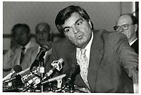 Claude Dupras,<br /> le 25 juillet  1986<br /> <br /> PHOTO : Agence Quebec Presse