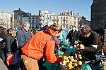 20080202 - France - Aquitaine - Bordeaux<br /> LE MARCHE SAINT-MICHEL, PLACE SAINT-MICHEL A BORDEAUX.<br /> Ref : MARCHE_002.jpg - © Philippe Noisette.