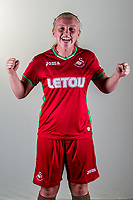 Wedensday 26 July 2017<br />Pictured: Sophie Hancocks<br />Re: Swansea City Ladies Squad 2017- 2018 at the Liberty Stadium, Wales, UK