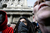 Thousands of protestors descended on the City of London ahead of the G20 summit of world leaders to express anger at the economic crisis, which many blame on the excesses of capitalism.