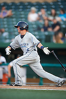 West Michigan Whitecaps second baseman Brandon Loy #15 during a Midwest League game against the South Bend Silver Hawks at Coveleski Stadium on August 15, 2012 in South Bend, Indiana.  West Michigan defeated South bend 7-1.  (Mike Janes/Four Seam Images)