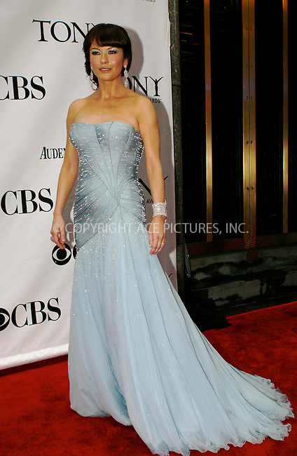 WWW.ACEPIXS.COM . . . . .  ....June 13 2010, New York City....Catherine Zeta-Jones arriving at the 64th Annual Tony Awards at Radio City Music Hall on June 13, 2010 in New York City. ....Please byline: NANCY RIVERA- ACEPIXS.COM.... *** ***..Ace Pictures, Inc:  ..Tel: 646 769 0430..e-mail: info@acepixs.com..web: http://www.acepixs.com