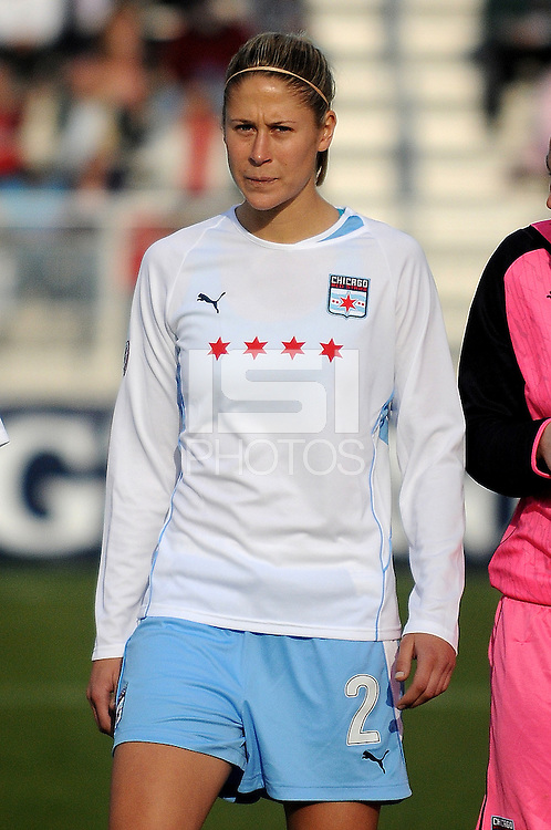 Chicago Red Stars defender Marian Dalmy (2)  Washington Freedom tied Chicago Red Stars 1-1  at The Maryland SoccerPlex, Saturday April 11, 2009.