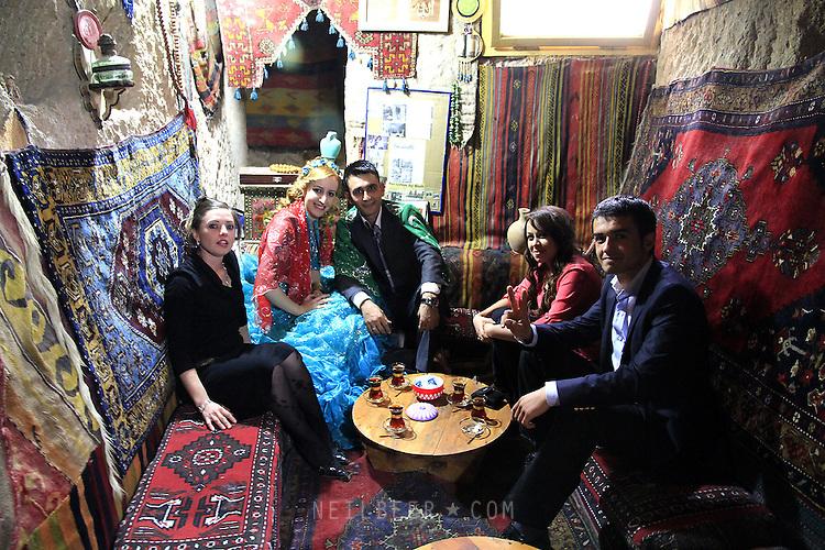 Images of Turkey. Wedding Party. CAPPADOCIA