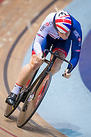Picture by Alex Whitehead/SWpix.com - 11/10/2017 - British Cycling - Great Britain Cycling Team Sprint Practice Session - HSBC UK National Cycling Centre, Manchester, England - Katy Marchant.