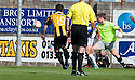 East Fife's Liam Buchanan scores their first goal.