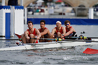 Race: 87 - Event: BRITANNIA - Berks: 445 N.S.R. OSLO, NOR - Bucks: 443 KINGSTON R.C.<br /> <br /> Henley Royal Regatta 2017<br /> <br /> To purchase this photo, or to see pricing information for Prints and Downloads, click the blue 'Add to Cart' button at the top-right of the page.