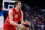 Crvena Zvezda Mts Belgrade's Marko Guduric during Turkish Airlines Euroleague match between Real Madrid and Crvena Zvezda Mts Belgrade at Wizink Center in Madrid, Spain. March 10, 2017. (ALTERPHOTOS/BorjaB.Hojas)