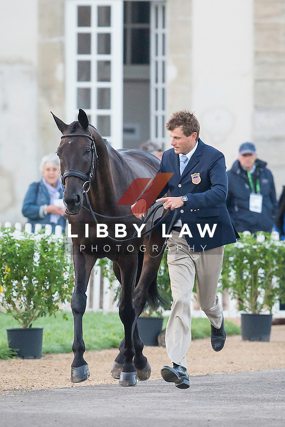 USA-Boyd Martin (SHAMWARI 4) FINAL HORSE INSPECTION: EVENTING: The Alltech FEI World Equestrian Games 2014 In Normandy - France (Sunday 31 August) CREDIT: Libby Law COPYRIGHT: LIBBY LAW PHOTOGRAPHY - NZL