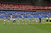 16th July 2020; Nice, France; Veolia Trohy Football friendly, OGC Nice versus Celtic FC; Team Celtic line up pre-game
