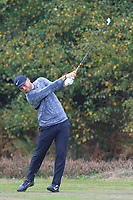 Jordan Smith (ENG) on the 2nd fairway during Round 3 of the Sky Sports British Masters at Walton Heath Golf Club in Tadworth, Surrey, England on Saturday 13th Oct 2018.<br /> Picture:  Thos Caffrey | Golffile