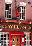 "London Gay Hussar 02 - The ""Gay Hussar"" Hungarian Restaurant, 2 Greek Street, Soho, London, England, UK"