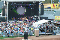Furthur Band at McCoy Stadium, Pawtucket RI on 5 July 2012