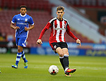 David Brooks of Sheffield Utd during the U23 Professional Development League match at Bramall Lane Stadium, Sheffield. Picture date: September 6th, 2016. Pic Simon Bellis/Sportimage