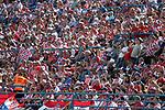 08.06.2019., stadium Gradski vrt, Osijek - UEFA Euro 2020 Qualifying, Group E, Croatia vs. Wales. Fans in the stands. <br /> Foto © nordphoto / Goran Stanzl/PIXSELL