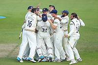 Picture by Alex Whitehead/SWpix.com - 12/09/2014 - Cricket - LV County Championship Div One - Nottinghamshire CCC v Yorkshire CCC, Day 4 - Trent Bridge, Nottingham, England - Yorkshire players celebrate winning the title.