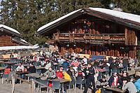 Europe/France/Rhone-Alpes/74/Haute-Savoie/Megève: Restaurant: La Côte 2000