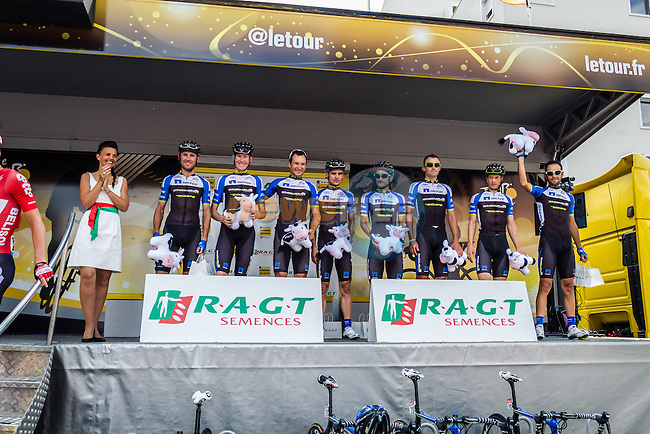Team Netapp-Endura, Tour de France, Stage 21: Évry > Paris Champs-Élysées, UCI WorldTour, 2.UWT, Évry, France, 27th July 2014, Photo by Thomas van Bracht