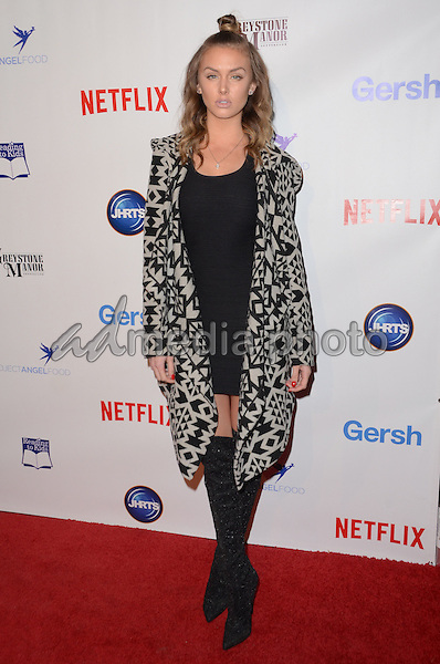 09 December - Beverly Hills, Ca - LaLa Kent. Arrivals for the Junior Hollywood Radio and Television Society's 13th Annual Holiday Party held at Greystone Manor. Photo Credit: Birdie Thompson/AdMedia