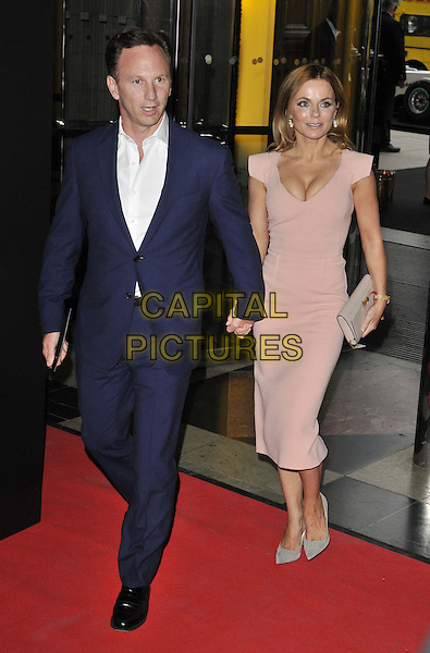 LONDON, ENGLAND - JULY 02: Christian Horner &amp; Geri Halliwell attend the F1 Party, Victoria &amp; Albert Museum, Cromwell Rd., on Wednesday July 02, 2014 in London, England, UK.<br /> CAP/CAN<br /> &copy;Can Nguyen/Capital Pictures