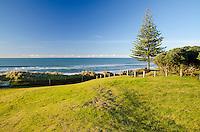 Surf at Wainui Beach.  Gisborne, North Island New Zealand.
