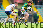 Tadhg Morley Kerry in action against Padraig Quille IT Tralee in the McGrath cup at Austin Stack Park on Sunday.