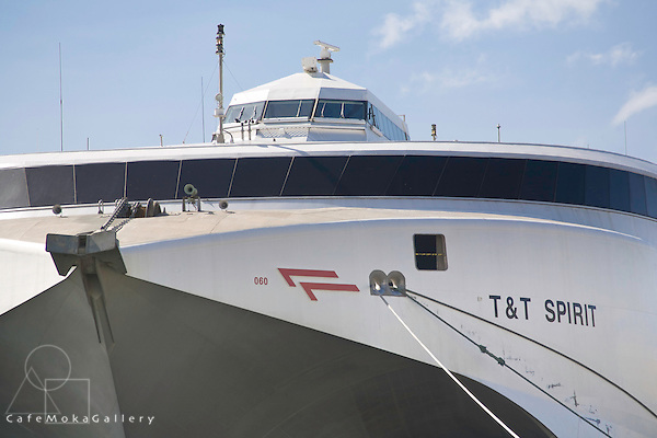 T&T Spirit, Trinidad and Tobago ferry docked in Port of Spain