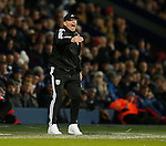 Tony Pulis manager of West Bromwich Albion shouts from the touchline - English Premier League - West Bromwich Albion vs Manchester Utd - The Hawthorns Stadium - West Bromwich - England - 6th March 2016 - Picture Simon Bellis/Sportimage