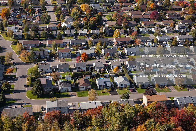 Quebec City suburb of L'Ancienne-Lorette is pictured in Quebec City Wednesday October 1, 2014. L'Ancienne-Lorette is a suburb of and an enclave within Quebec City.