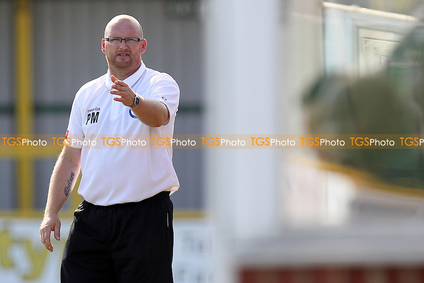 Romford manager Paul Martin - Romford vs Ilford - Ryman League Division One North Football at Ship Lane, Thurrock FC - 08/09/12 - MANDATORY CREDIT: Gavin Ellis/TGSPHOTO - Self billing applies where appropriate - 0845 094 6026 - contact@tgsphoto.co.uk - NO UNPAID USE.