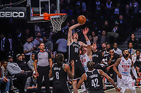 NOVA YORK, EUA, 04.10.2019 - BROOKLYN NETS-FRANCA - Partida entre Franca e Brooklyn Nets valido pela pre temporada da NBA no Barclays Center em Nova York, nesta sexta-feira, 04. (Foto: Vanessa Carvalho/Brazil Photo Press)