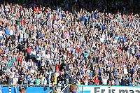 VOETBAL: HEERENVEEN, Abe Lenstra Stadion, 29-09-2013, SC Heerenveen - SC Cambuur, uitslag 2-1,  Heerenveen supporters, ©foto Martin de Jong