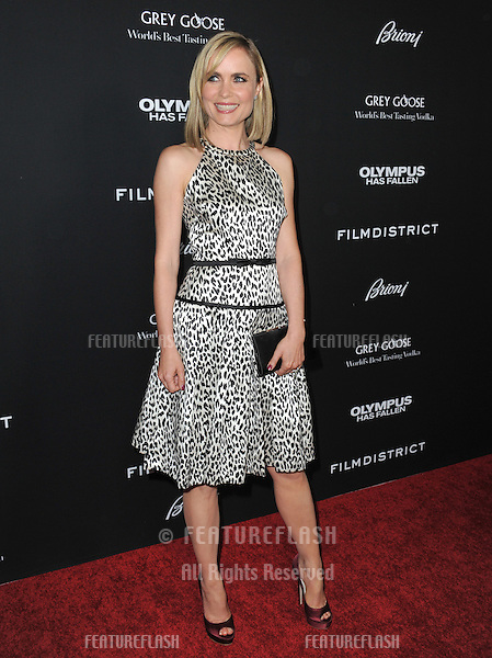 "Radha Mitchell at the Los Angeles premiere of her movie ""Olympus Has Fallen"" at the Cinerama Dome, Hollywood..March 18, 2013  Los Angeles, CA.Picture: Paul Smith / Featureflash"