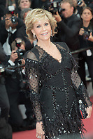 CANNES, FRANCE - MAY 13: Jane Fonda attends the screening of 'Sink Or Swim (Le Grand Bain)' during the 71st annual Cannes Film Festival at Palais des Festivals on May 13, 2018 in Cannes, France.<br /> Picture: Kristina Afanasyeva/Featureflash/SilverHub 0208 004 5359 sales@silverhubmedia.com