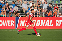 Kansas City, MO - Saturday May 27, 2017: Estelle Johnson during a regular season National Women's Soccer League (NWSL) match between FC Kansas City and the Washington Spirit at Children's Mercy Victory Field.