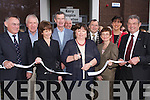 OPENING: The new Palliative Care Unit at Kerry General Hospital was officially opened on Friday by Mary Harney, Minister for Health. Pictured are, l-r: Mr Tom McCormack, Jimmy Deenihan TD, Dr Patricia Scannell, Dick Spring, Tom Leonard, Mary Harney, Minister for Health, Ted Fitzgerald (Mayor of Kerry), Margie Lynch (General Manager KGH), Norma Foley (Mayor of Tralee) and Ted Moynihan (Chairman Kerry Hospice)..