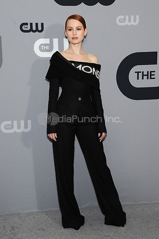 NEW YORK, NY - MAY 17: Madelaine Petsch at the 2018 CW Network Upfront at The London Hotel on May 17, 2018 in New York City. Credit: John Palmer/MediaPunch