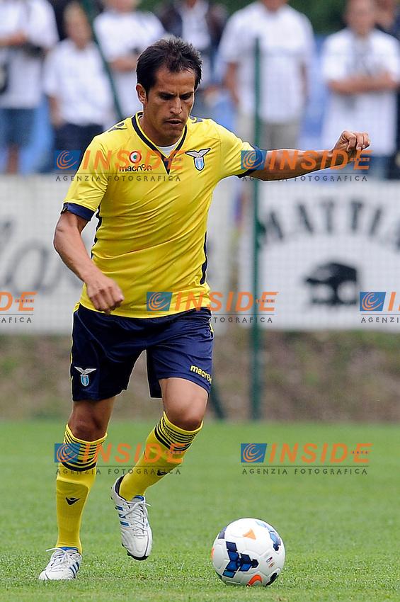 Cristian Ledesma (Lazio)<br /> Auronzo di Cadore (Belluno) 24/7/2013 <br /> Football Calcio 2013/2014 Serie A <br /> SS Lazio Vs Spezia<br /> Amichevole Friendly Match <br /> Ritiro precampionato SS Lazio <br /> Foto Insidefoto
