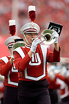 MADISON, WI - SEPTEMBER 9: A band member of the Wisconsin Badgers marches at half-time during the game against the Western Illinois Lethernecks at Camp Randall Stadium on September 9, 2006 in Madison, Wisconsin. The Badgers beat the Leathernecks 34-10. (Photo by David Stluka)