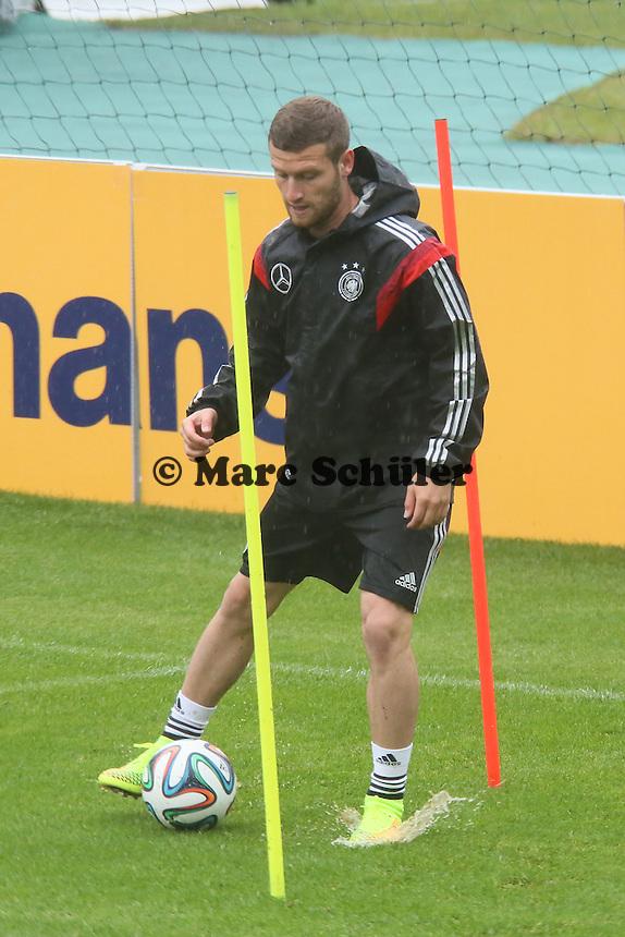 Shkodran Mustafi - Training der Deutschen Nationalmannschaft  zur WM-Vorbereitung in St. Martin
