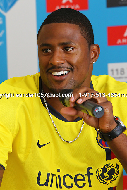 David Oliver  at the Samsung Diamond League press conference, Pullman Hotel. Paris,France Thursday, July  15, 2010. photo by Errol Anderson.