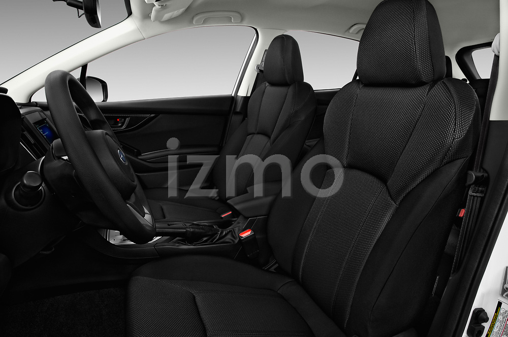 Front seat view of 2017 Subaru Impreza CVT 5 Door Hatchback Front Seat  car photos